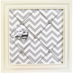 chevron stripe bulletin board