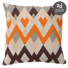 diamond echo pillow