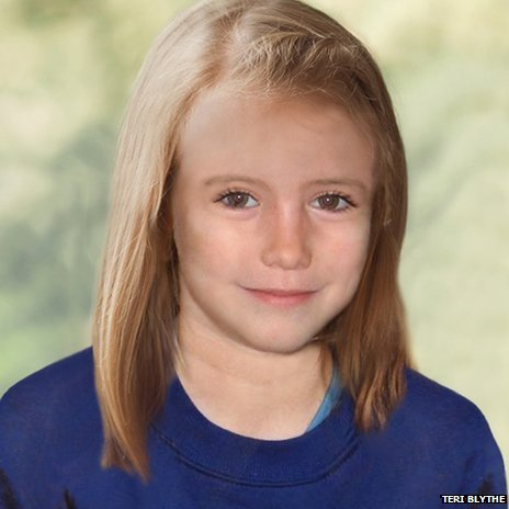 Madeleine McCann age progression