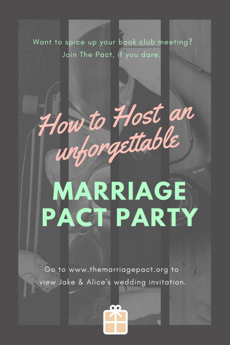 How to host a great book club party for the marriage pact for How to be a good party host